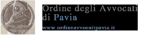 Logo Ordine degli Avvocati di Pavia
